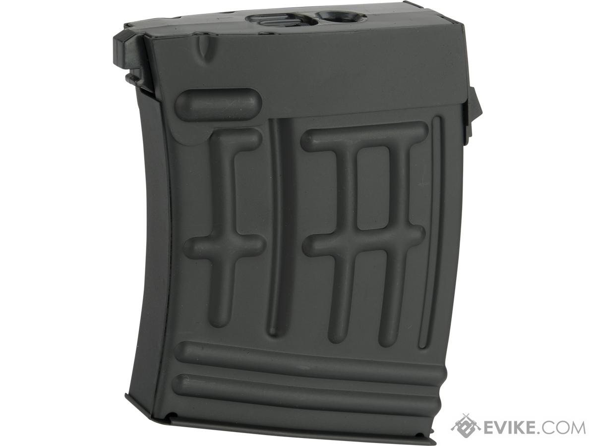Pre-Order ETA April 2020 CYMA 80 Round mid-cap Magazine for Matrix CYMA Echo1 Airsoft SVD AEG Rifles