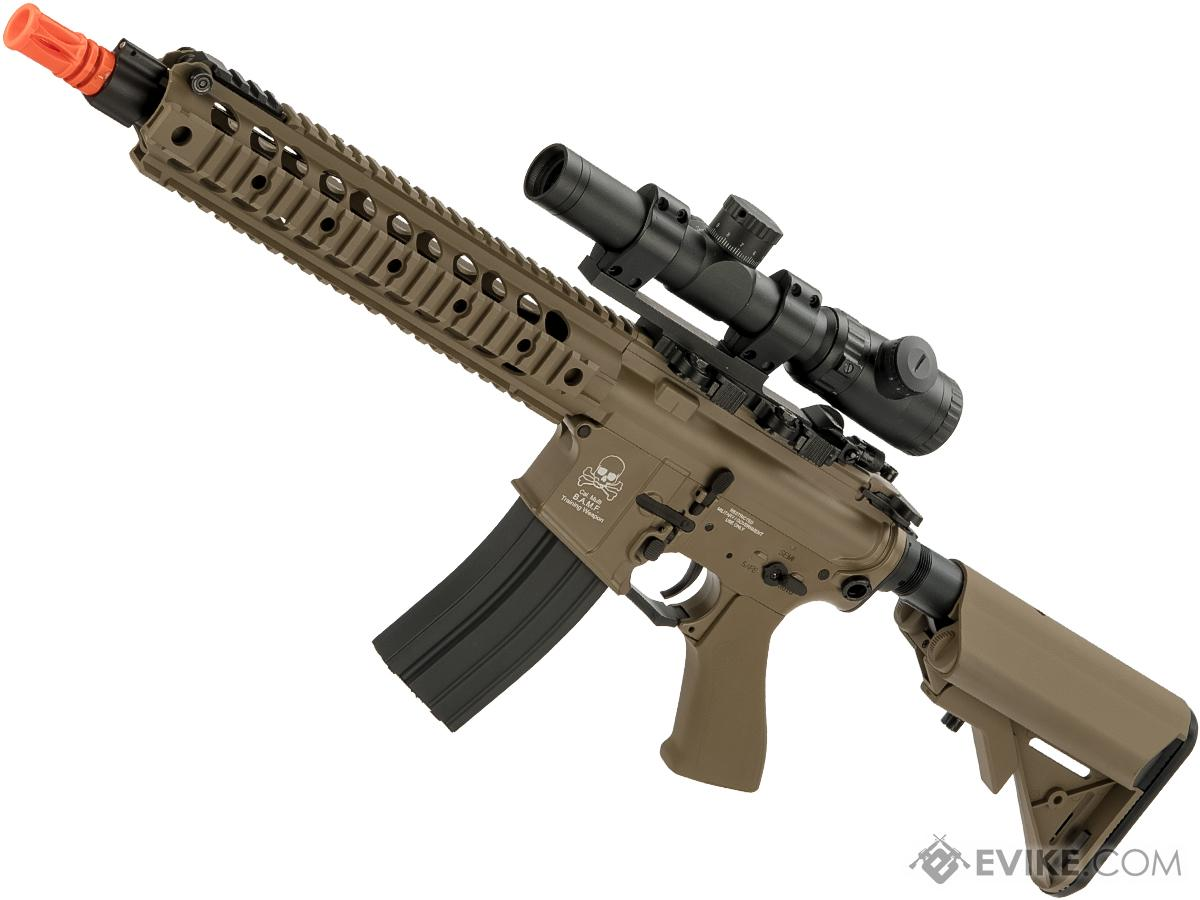 CYMA AA16 E3 Full Metal Li-Po Ready High Performance Competition Airsoft AEG (Color: Tan)