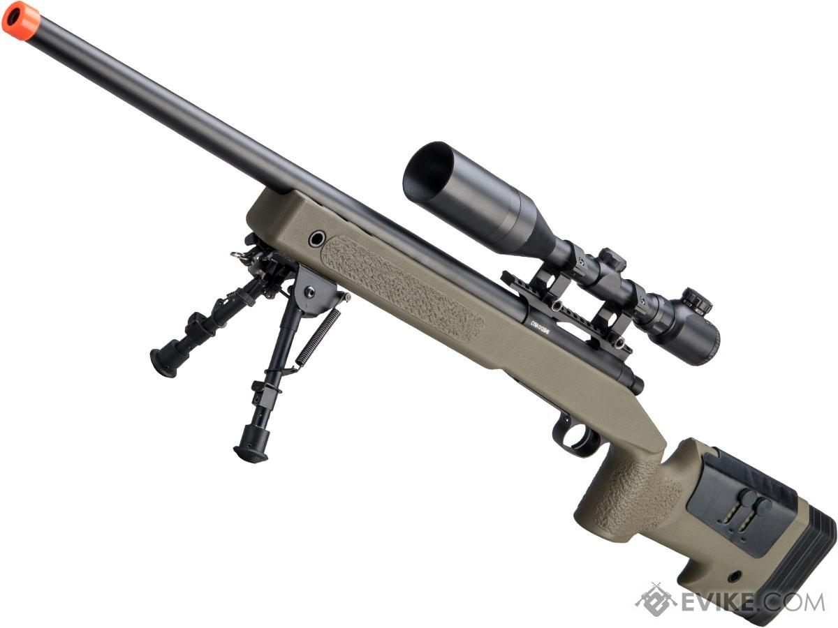 CYMA USMC M40A3 Bolt Action Airsoft Sniper Rifle (Model: OD Green)