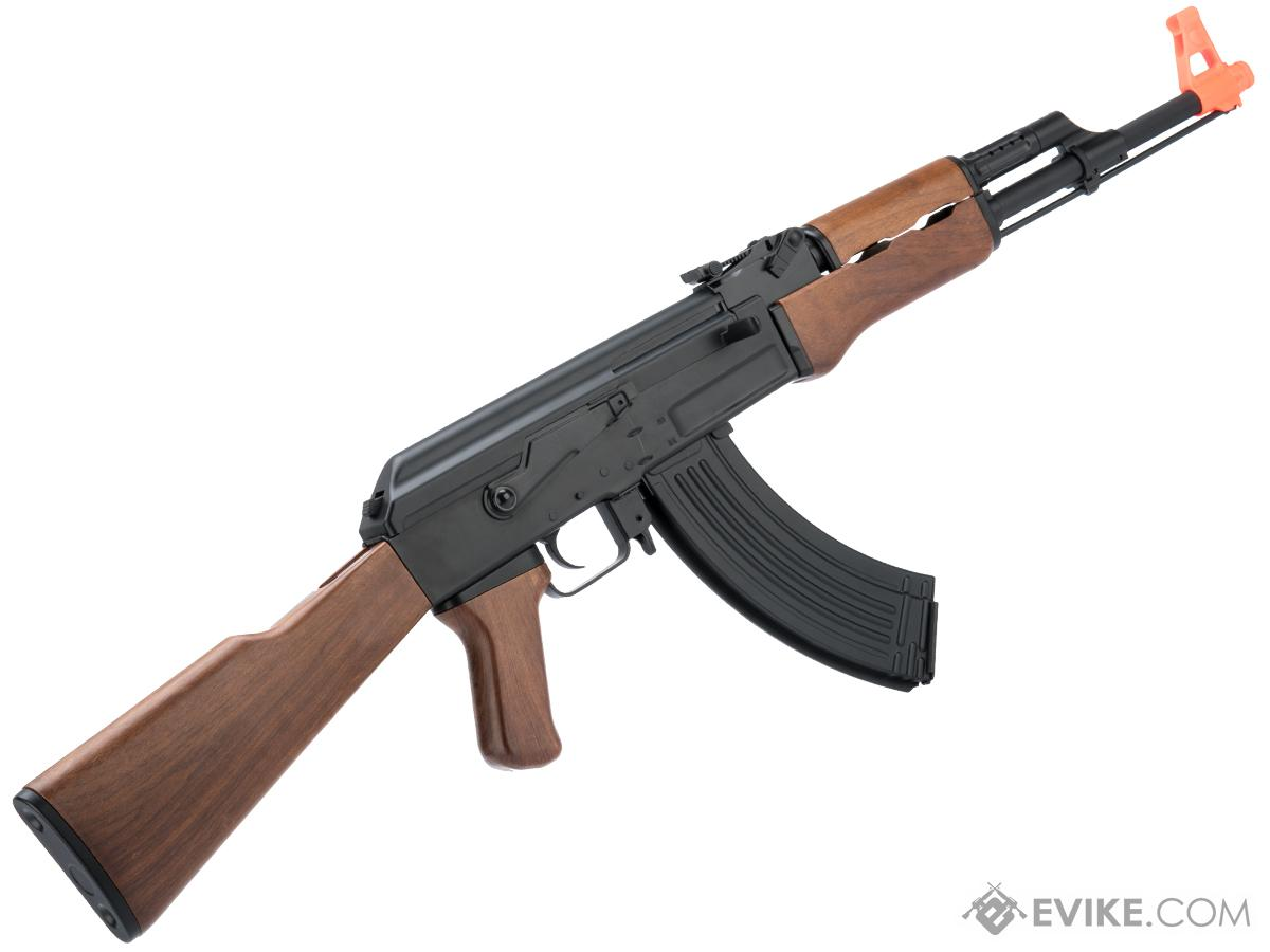 cyma cm522 sportline ak47 airsoft aeg with imitation wood