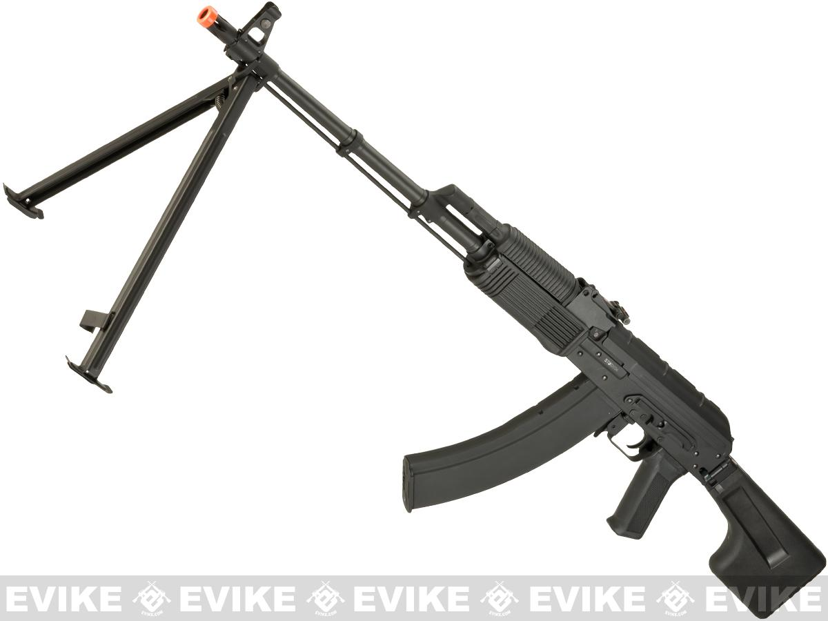 CYMA CM052A Full Metal RPK Airsoft AEG w/ Bipod and Folding Stock - Synthetic Furniture (Package: Gun Only)