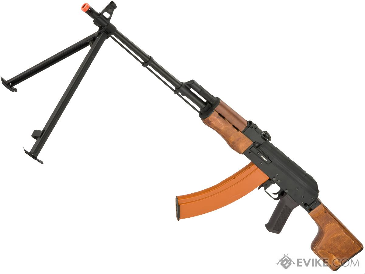 CYMA CM052S Full Metal RPK Airsoft AEG w/ Bipod and Folding Stock - Wood  Furniture (Package: Gun Only)