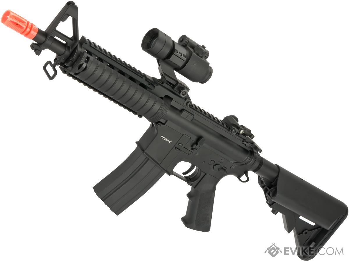 Matrix Full Metal M4 RAS II Carbine Airsoft AEG Rifle - (Package: Gun Only)