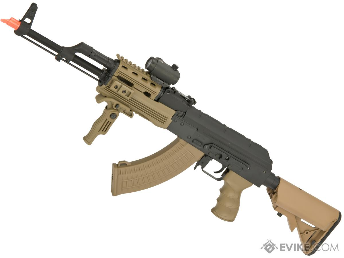 Matrix Field Ops Series AK74 Legionnaire Airsoft AEG Package by CYMA (Color: Desert)
