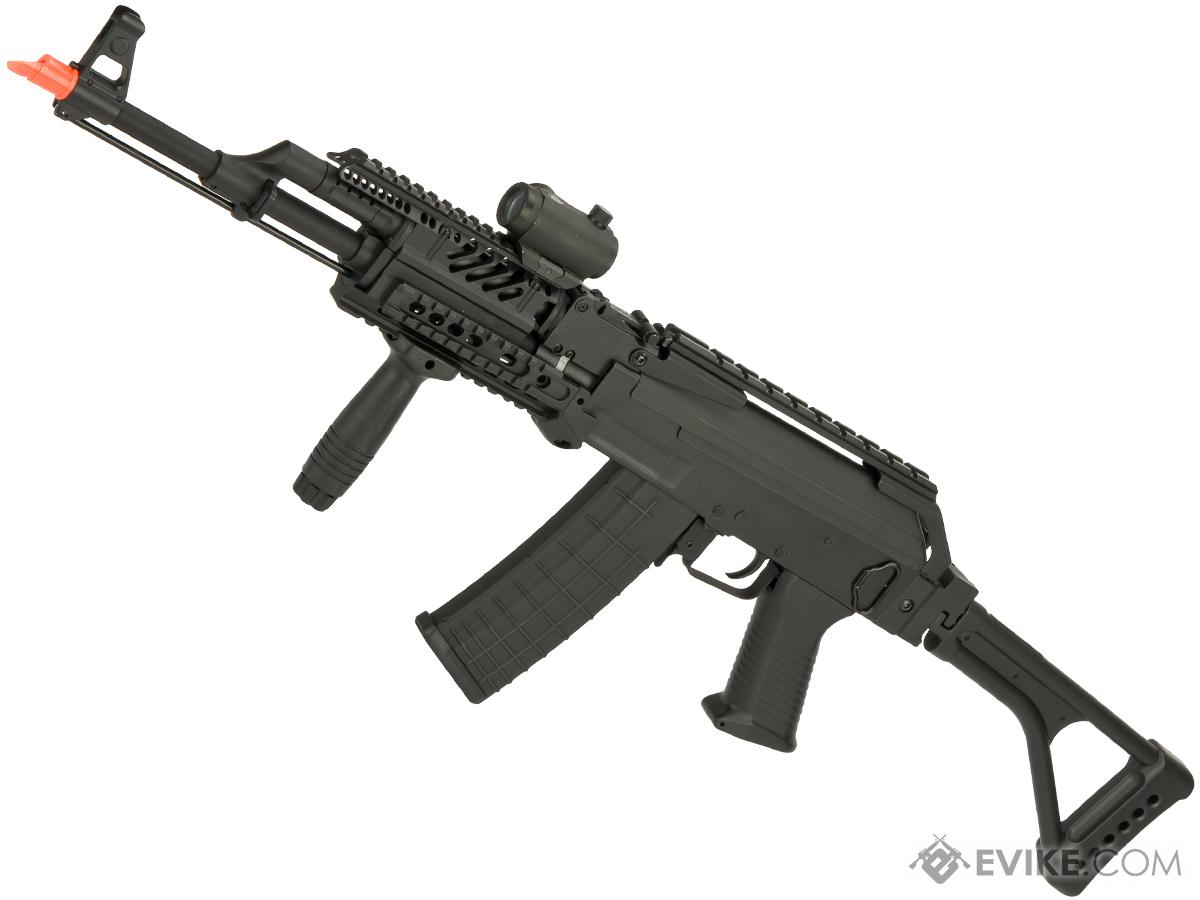 Matrix Field Ops Series Folding Stock AK47 Legionnaire Airsoft AEG Package by CYMA (Color: Black)
