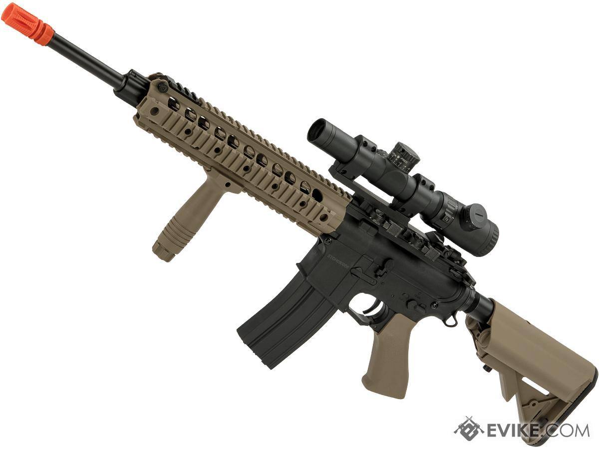 CYMA Sport M4 Airsoft AEG with 11 UX Handguard (Color: Tan)