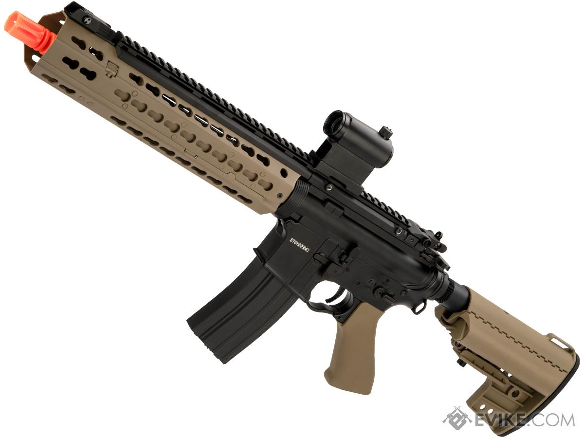 CYMA Keymod-S Full Metal M4 Airsoft AEG (Color: Dark Earth / 10)