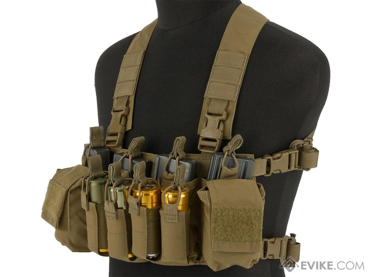 Haley Strategic HSP D3CR-X Disruptive Environments Chest Rig (Color: Coyote)