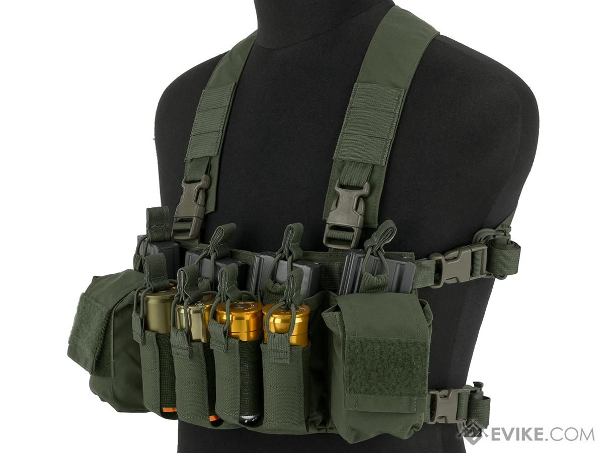Haley Strategic HSP D3CR-X Disruptive Environments Chest Rig (Color: Ranger Green)