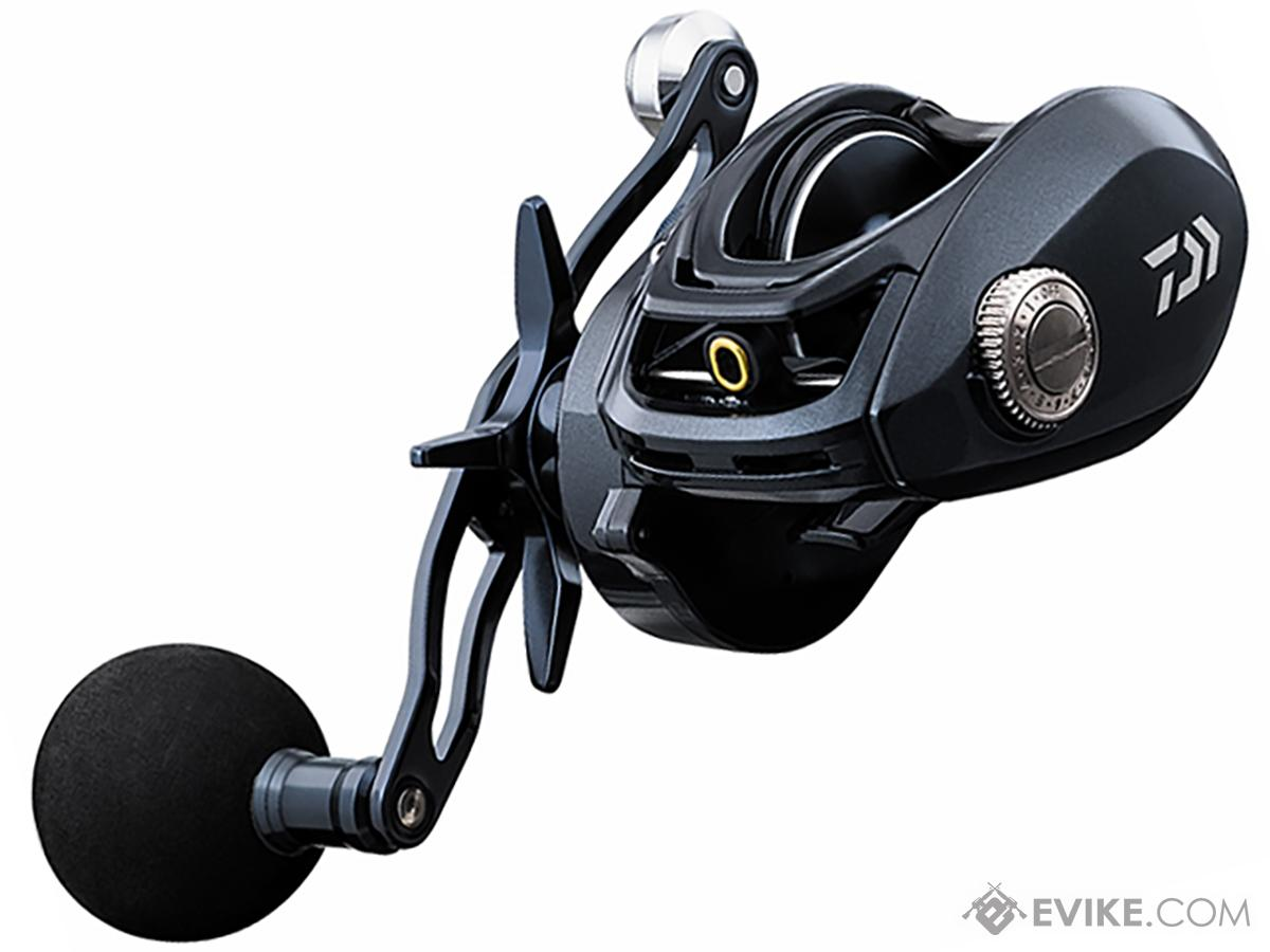 Daiwa Lexa Type HD Low Profile Baitcast Fishing Reel (Model: LX-HD400H-P)