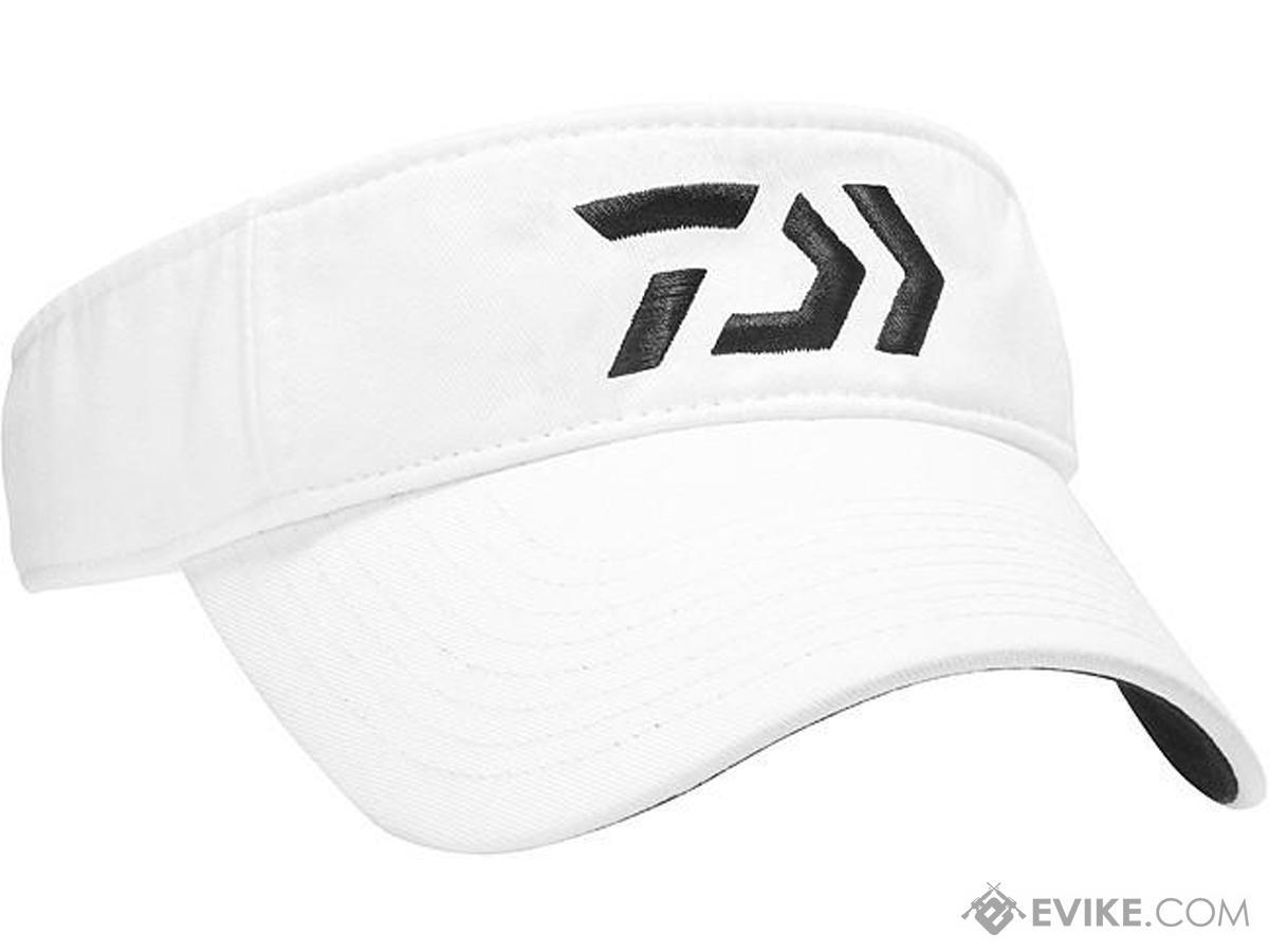 Daiwa D-VEC Logo Visor (Color: White)