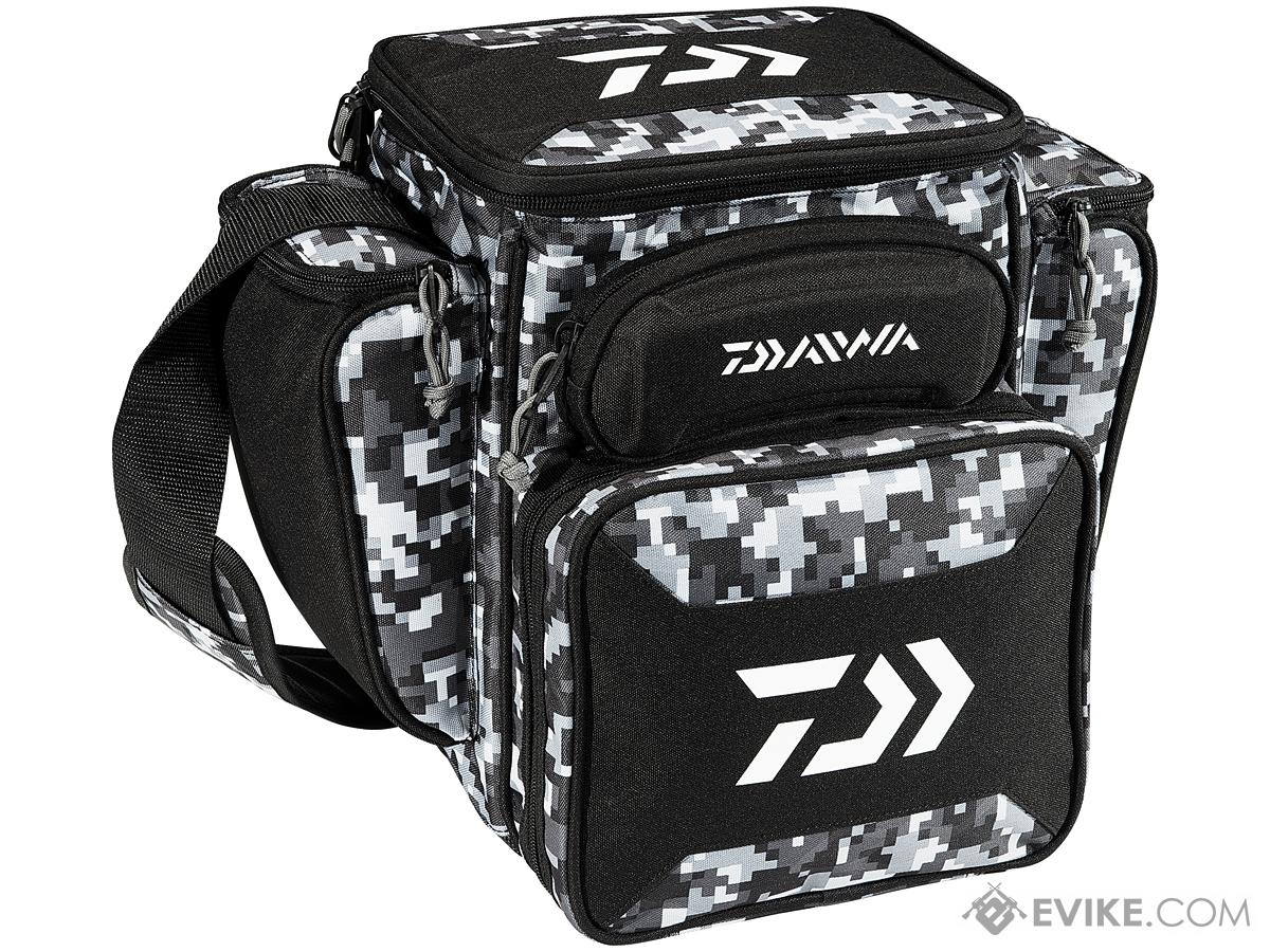 Daiwa D-VEC Tactical Soft Sided Tackle Box (Size: Medium / Digital Camo)