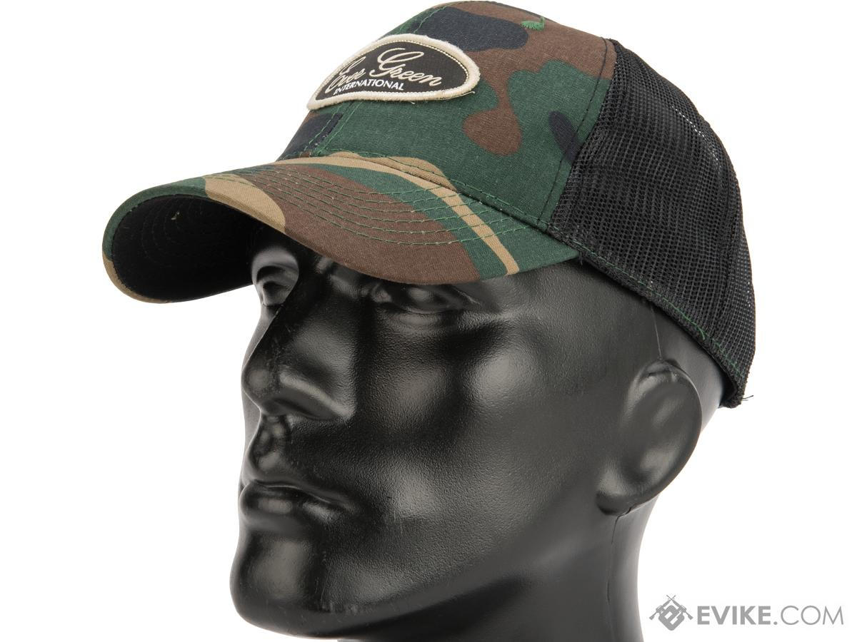 941dcfc4c17 Daiwa Evergreen Mesh Trucker Cap (Color  Woodland Camo)