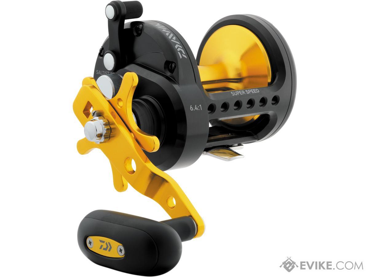 Daiwa SALTIST® Black Gold Star Drag Conventional Fishing Reel (Model: STTBG40H)