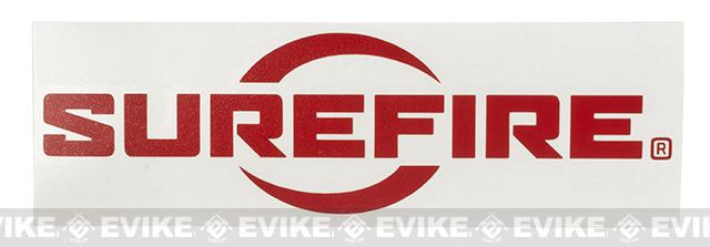 SureFire Logo Vinyl Decal - Red