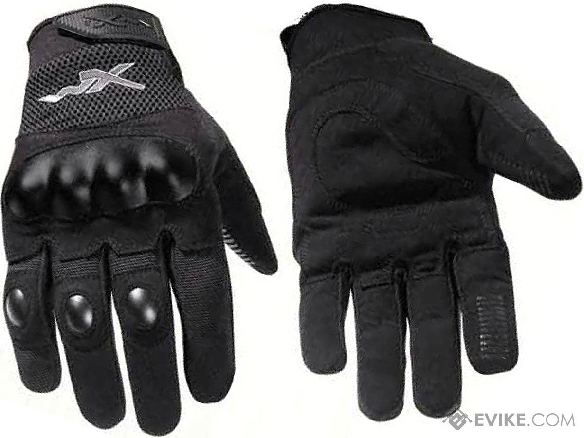Wiley-X Durtac All-Purpose Hard Knuckle Gloves (Size: Black / Medium)