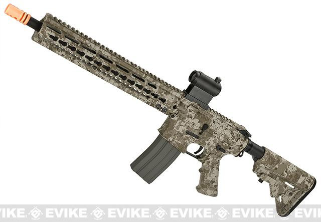 DYTAC MK5 SMR 14.5 Black Jack M4 Carbine Water-Transfer Airsoft AEG Rifle (Color: Desert Digital)