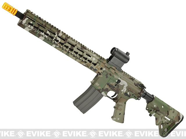 DYTAC MK5 SMR 14.5 Black Jack M4 Carbine Water-Transfer Airsoft AEG Rifle (Color: Multicam)