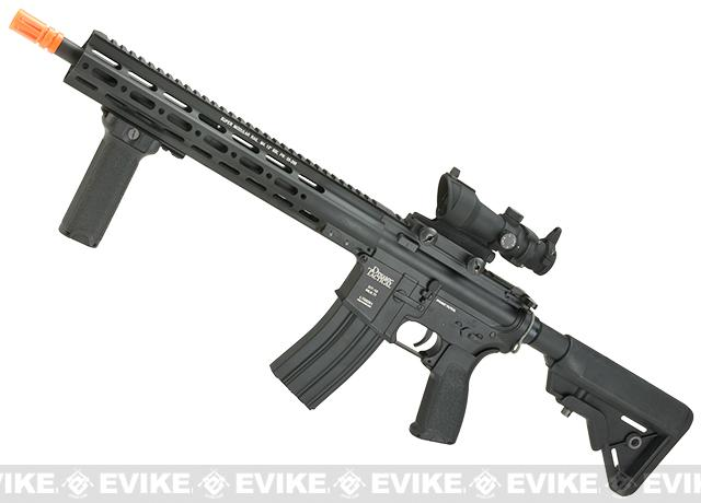 DYTAC MK1 SMR 14.5 Black Jack M4 Carbine Airsoft AEG Rifle (Color: Black)