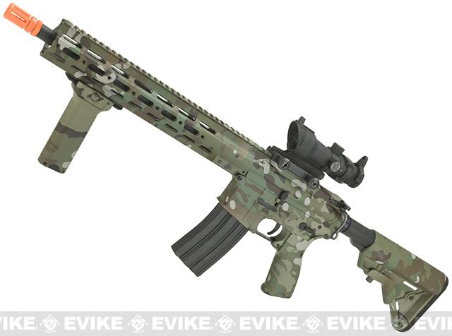 DYTAC MK1 SMR 14.5 Black Jack M4 Carbine Water-Transfer Airsoft AEG Rifle (Color: Multicam)
