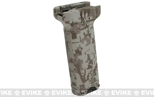 Dytac Ergonomic Vertical Grip - Long (Color: Digital Desert)