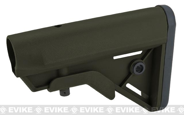 DYTAC SOPMOD Retractable Crane Stock for M4 Series Airsoft Rifles (Color: OD Green)