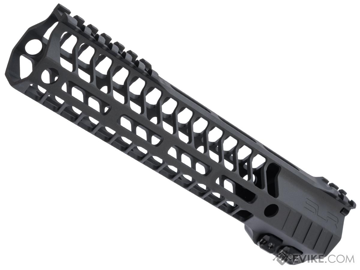 Dytac SLR Helix Ultra Lite M-LOK Handguard for M4/M16 Series Airsoft AEGs (Color: Black Cerakote / 9.7)