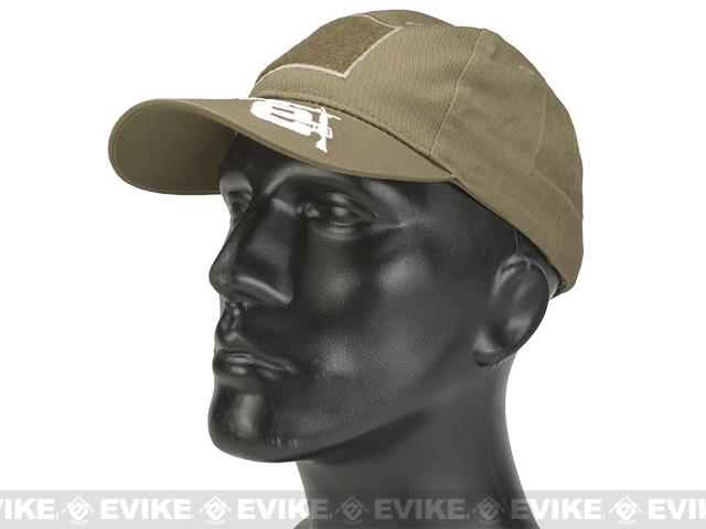 Evike.com Mil-Spec Patch Ready Tactical Ball Cap (Color: Tan / Type 2)