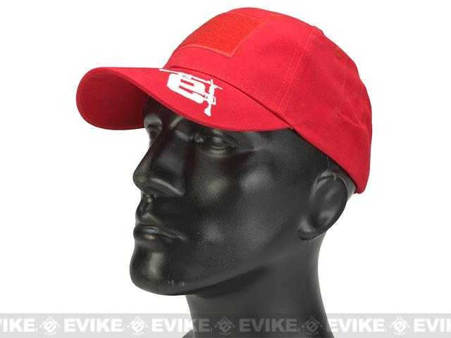 Evike.com Mil-Spec Patch Ready Tactical Ball Cap (Color: Red / Type 2)