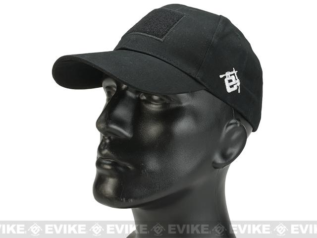 Evike.com Mil-Spec Patch Ready Tactical Ball Cap  (Color: Black)