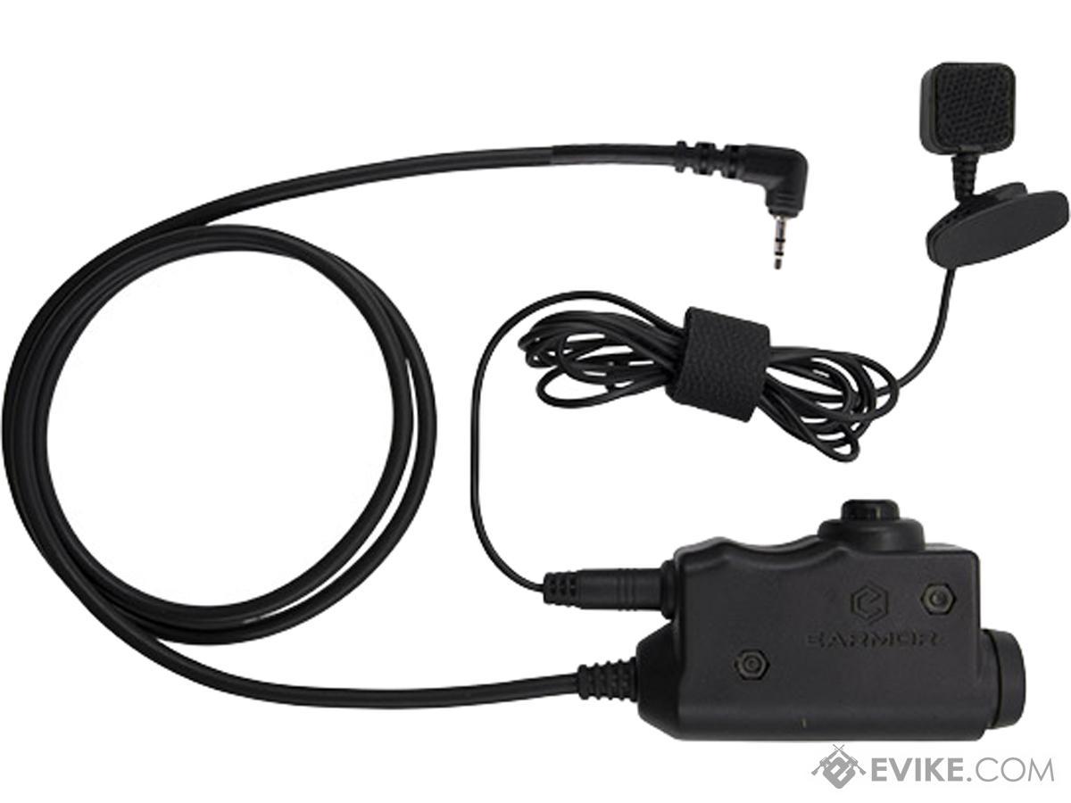 Earmor M52 Button-Activated PTT (Model: TopCom)