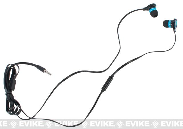 Evike.com EAR-SOFT Mega Bass High Fidelity Heaphones System (Smart Phone Ready)