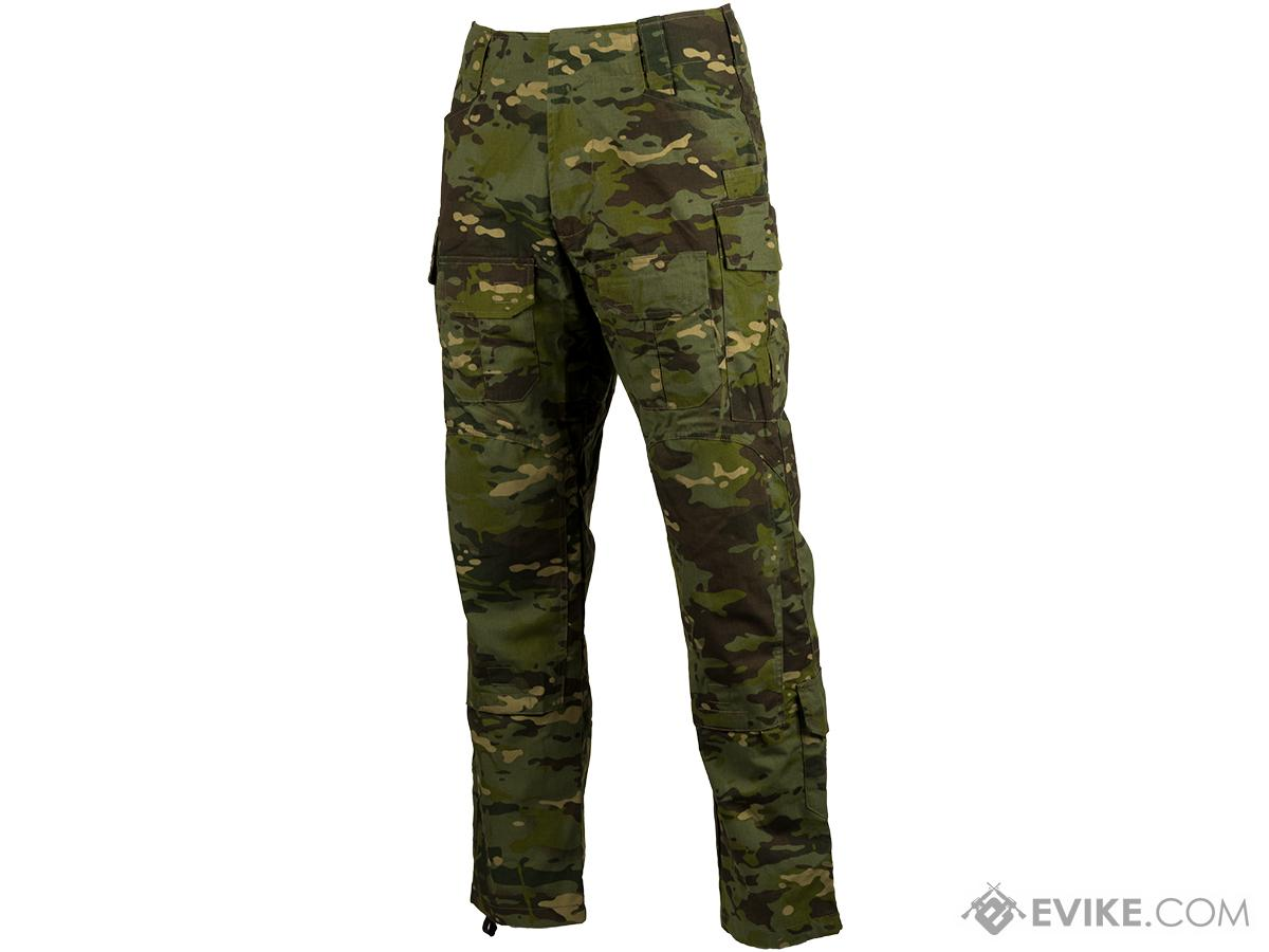 TMC Combat Pants with Integrated Knee Pads (Color: Multicam Tropic / Small)