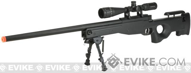 E&C Airsoft L96 Bolt Action Airsoft Sniper Rifle (Color: Black)