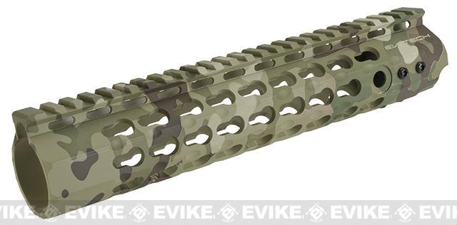 APS 10 Keymod RIS Free Float Handguard for M4 / M16 Series Airsoft AEG Rifles (Color: Multicam)
