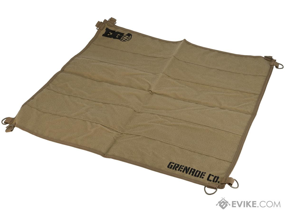 Enola Gaye Hook & Loop Patch Wall (Color: Tan)