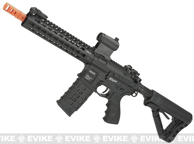 G&G Combat Machine CM16 SRL Airsoft M4 AEG Rifle with 9 Keymod Rail - (Package: Add 9.6 Butterfly Battery + Smart Charger)