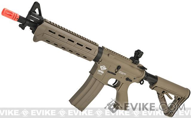 G&G CM16 Mod-0 Airsoft AEG Rifle (Package: Tan / Add 9.6 Butterfly Battery + Smart Charger)