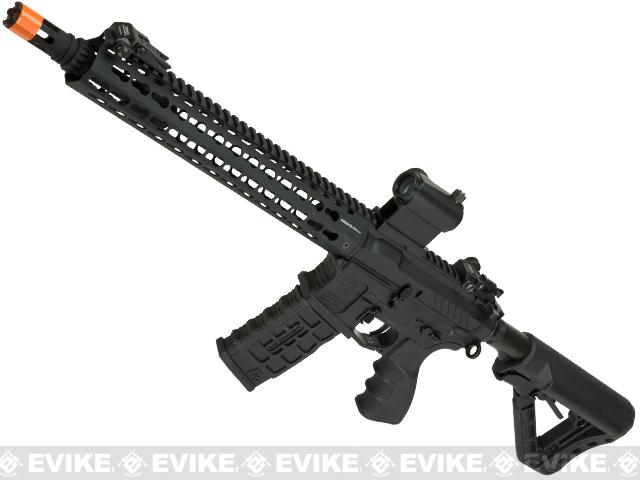 G&G Combat Machine CM16 SRXL Airsoft M4 AEG Rifle with Keymod Rail - 12 (Package: Black / Gun Only)