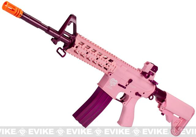 G&G Femme Fatale 15 Electric Blowback Airsoft AEG Rifle - Long (Package: Add 9.6 Butterfly Battery + Smart Charger)
