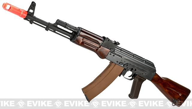 z E&L Airsoft AK-74N A102 Gen. 2 Full Metal AEG Rifle w/ Real Wood Furniture