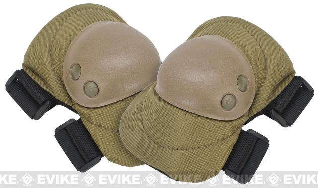 Avengers Special Operation Tactical Elbow Pad Set (Color: Tan)