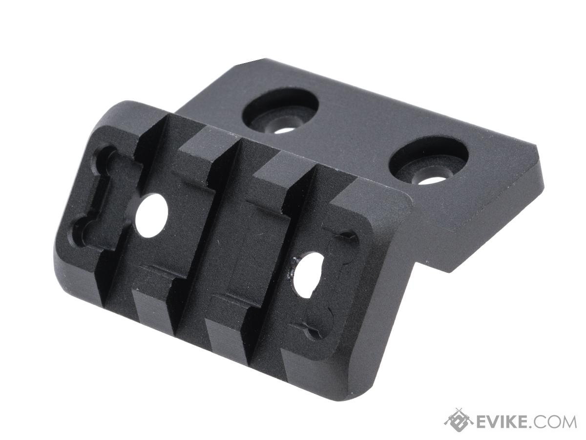 Element Offset Light Mount w/ Picatinny Rail Adapter for M-LOK and KeyMod Rails (Color: Black)