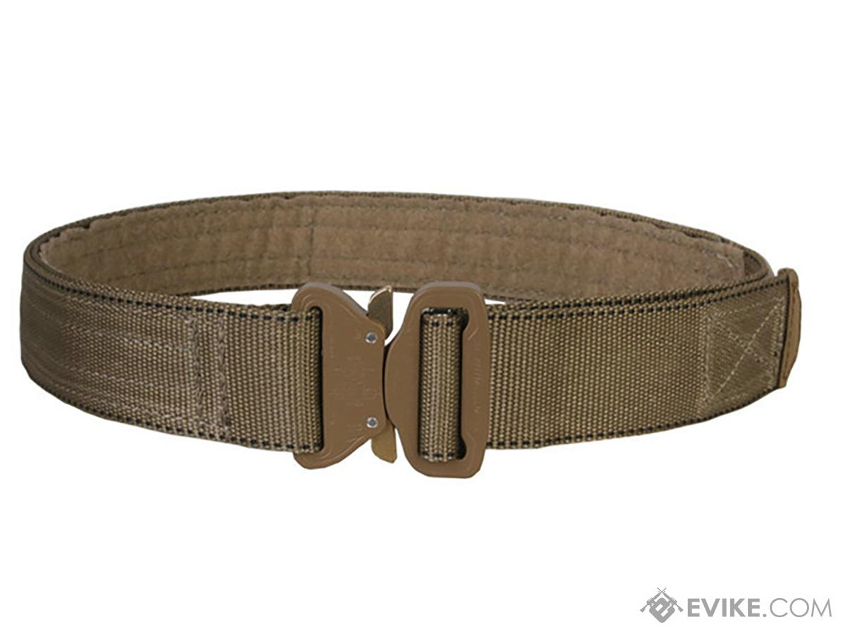 EmersonGear Heavy Duty Riggers Belt with Cobra Buckle (Color: Khaki / Large / 1.75)