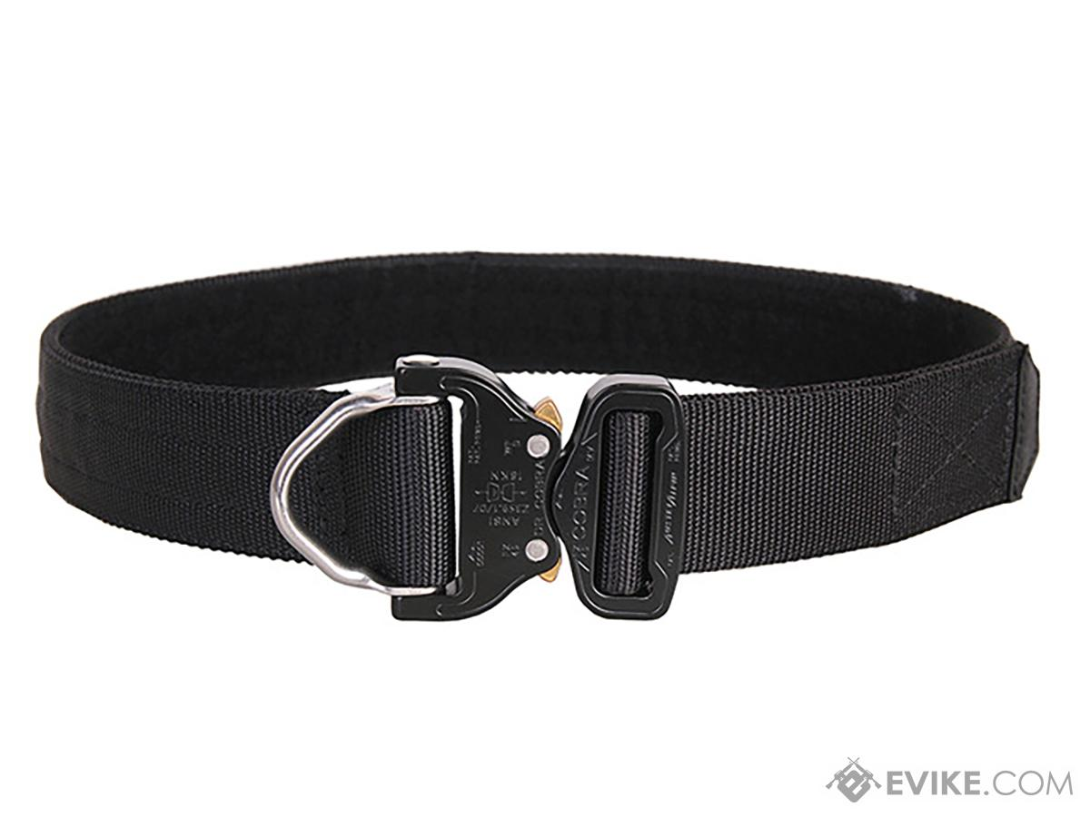 EmersonGear Heavy Duty Riggers Belt with Cobra Buckle (Color: Black / Medium / 1.75 / D-Ring)