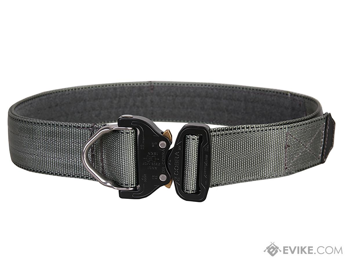 EmersonGear Heavy Duty Riggers Belt with Cobra Buckle (Color: Foliage Green / Large / 1.75 / D-Ring)