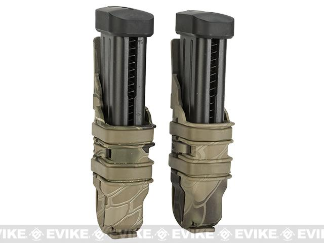 Avengers Fast Hard Shell Magazine Holster for Pistol Magazines - Set of 2 (Desert Serpent)
