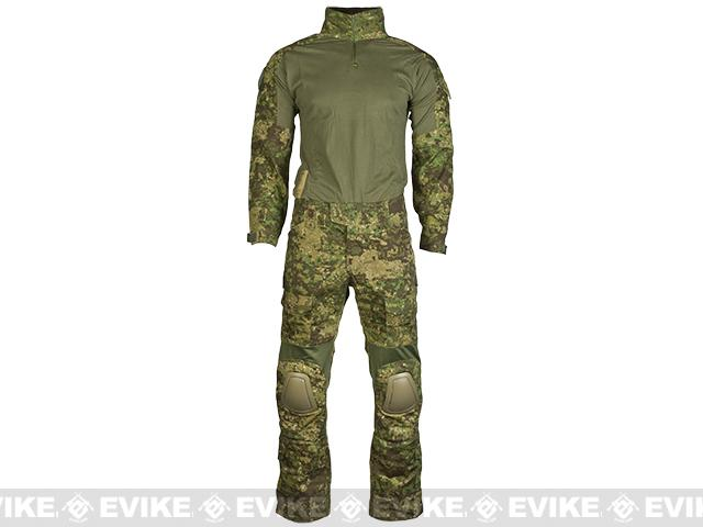 Emerson Combat Uniform Set (Color: Greenzone / Medium)