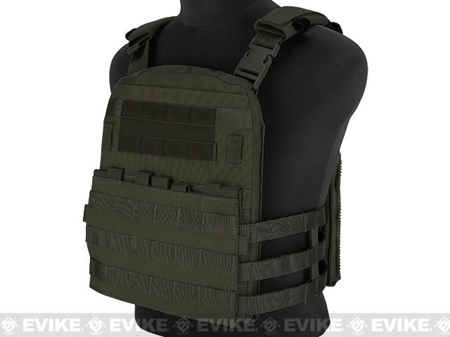 Emerson Lightweight Cage Plate Carrier- Foliage Green