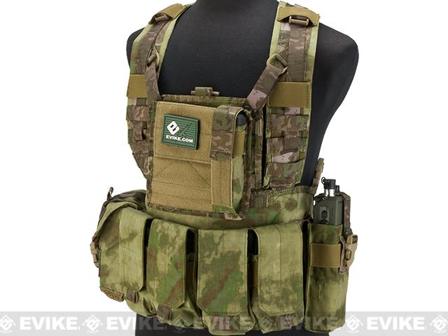 Emerson Tactical RRV Style Chest Rig - Arid Foliage